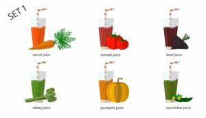 set-fresh-isolated-vegetable-juices-carrot