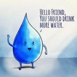 you should drink more water